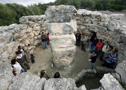 Jornada de puertas abiertas en el Museo Arqueológico de Son Fornés.