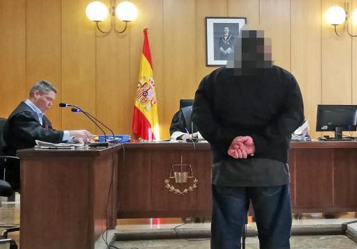 El tatuador absuelto de abusos sexuales, hace unos días, en un juzgado de lo Penal de Palma.