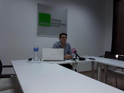 Jorge Tera, secretario autonómico del sindicato en Balears SATSE.