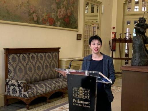 Silvia Cano, portavoz del PSIB-PSOE.