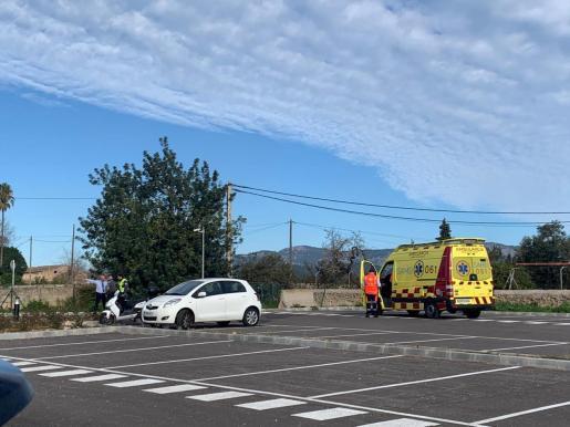 Imagen del parking donde ha sido localizado el cadáver este jueves.
