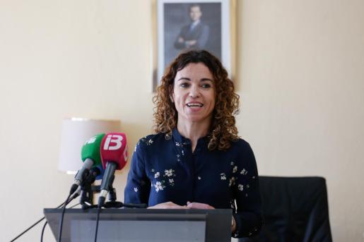 Rosario Sánchez, consellera d'Hisenda i Relacions Exteriors.