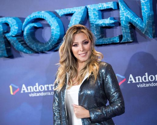Gisela, en el estreno de 'Frozen 2' en los Cines Callao, en Madrid.