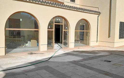 Desde hace unos años se trabaja en la profunda reforma del viejo edificio 'santjoaner'.