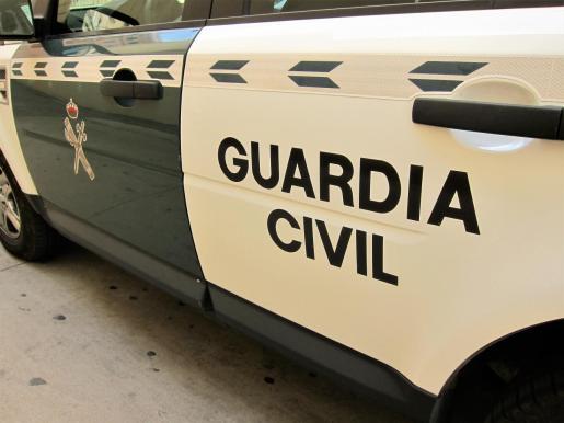 Imagen de recurso de un coche de la Guardia Civil.