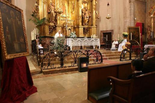 Este año se intervendrá la imagen escultórica del rey David de la parroquia San Nicolás de Palma.