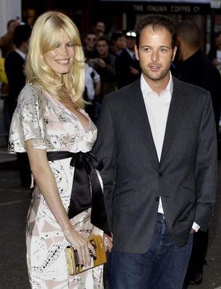 La modelo y su marido, Matthew Vaughn.