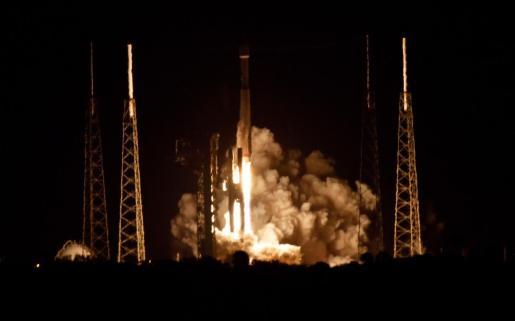 Solar Orbiter, en el momento de su lanzamiento.