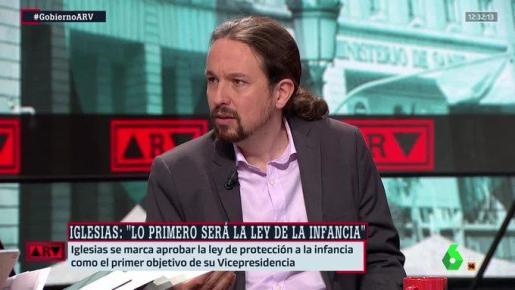 Pablo Iglesias lo ha anunciado en el programa 'Al rojo vivo'.