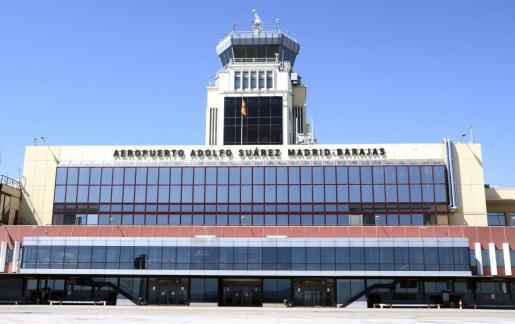 Imagen del exterior del Aeropuerto Adolfo Suárez Madrid-Barajas.