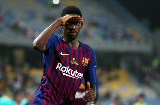 Imagen de archivo del jugador del Barcelona Ousmane Dembéle.