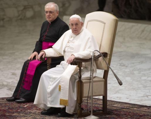 Imagen de archivo del papa Francisco en el Vaticano.
