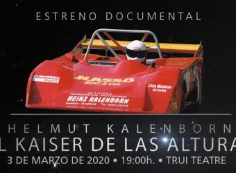El documental 'Helmut Kalenborn, el kaiser de las Alturas', en Trui Teatre