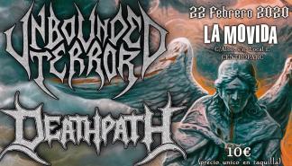 Unbounded Terror en concierto en La Movida