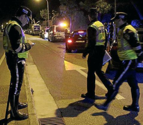 Imagen de archivo de agentes de la Policía Local de Palma.