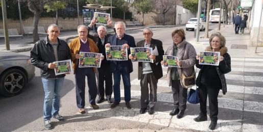 La Federació de Veïnats de sa Ciutat de Palma y las asociaciones vecinales de Son Armadans, Es Fortí, Sa Teulera, Amics de Santa Catalina, Es Born des Molinar y Ses Cases Noves des Coll han presentado la protesta.