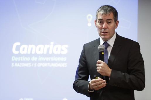 Fernando Clavijo, senador de Coalición Canarias.