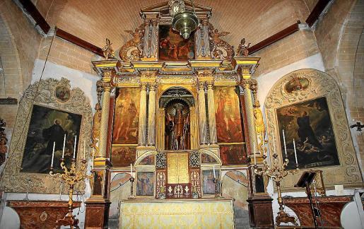 En el Convent de Sant Francesc de Paula de Campos se harán trabajos de restauración y documentación del retablo mayor y los retablos de los beatos Gaspar de Bono y Nicola di Longobardi. Este conjunto fue objeto de estudios en 2017.