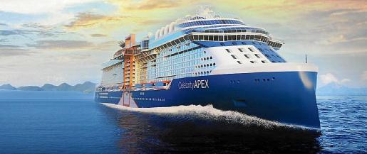 El 'Celebrity Apex' recalará en Palma a primeros de septiembre en la penúltima escala de este crucero, que tendrá a Gwyneth Paltrow como protagonista.