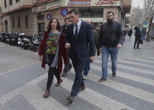 Neus Truyol ha acudido a declarar por el 'caso Emaya'.