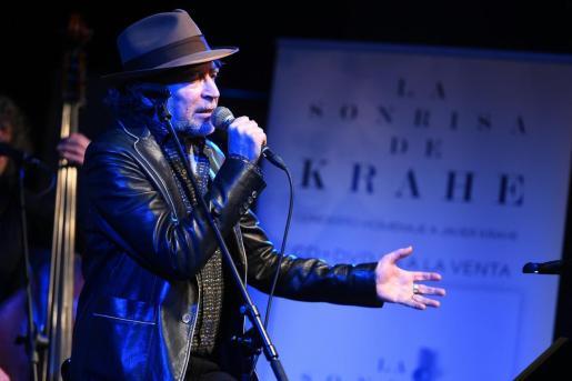 El cantautor Joaquín Sabina.