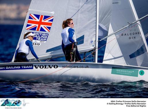 Imagen de una de las embarcaciones participantes en el pasado Trofeo Princesa Sofía Iberostar.