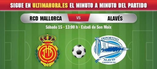 El Real Mallorca regresa a Son Moix, donde recibe al Deportivo Alavés en otro partido fundamental para la salvación.