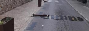 Denuncian destrozos en el mobilario urbano de Campanet