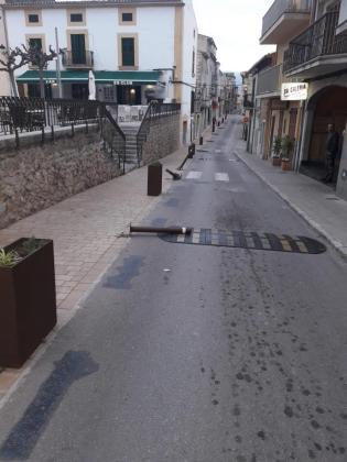 El Ajuntament de Campanet ha comunicado que el caso ya se ha puesto en manos de la policía