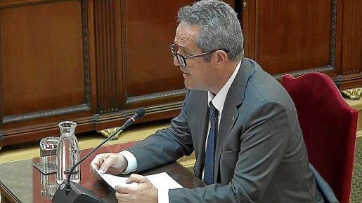 Imagen de archivo del exconseller de Interior Joaquim Forn.