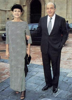 Plácido Arango junto a Cristina Macaya, en una imagen de archivo.