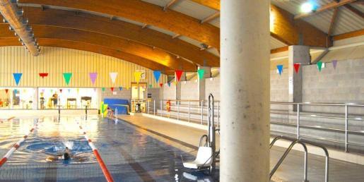 Imagen de la piscina cubierta de Lloseta.