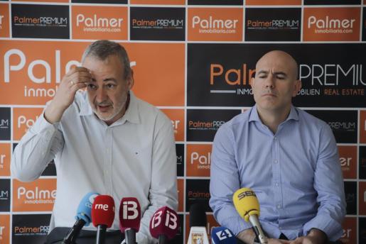 Guillem Boscana y Félix Alonso, en una reciente rueda de prensa.