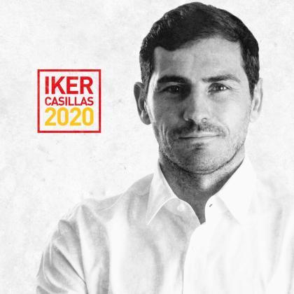 Imagen promocional de la candidatura de Iker Casillas a la presidencia de la RFEF.