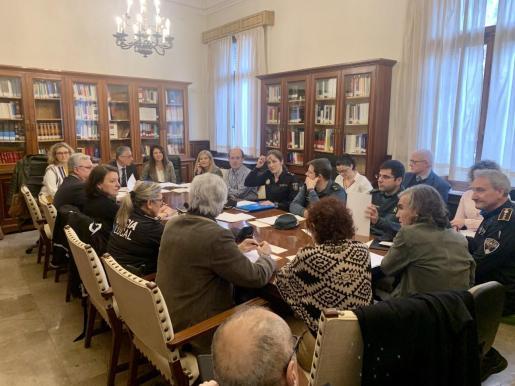 La Comisión Judicial Provincial de Coordinación en materia de Violencia sobre la Mujer y Menores ha celebrado su segunda reunión.
