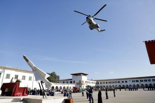 Celebración de la patrona del Ejército del Aire, la Virgen de Loreto, en Palma.