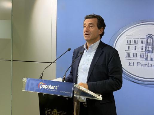 El presidente del Partido Popular en Balears, Biel Company.