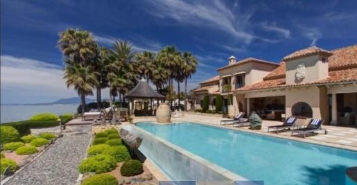 Imagen de la casa más cara de España, en Marbella.