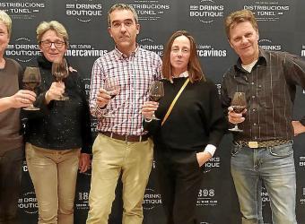 Cata de vinos de las bodegas Viña Pedrosa