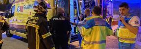 Herida grave al quedar su mano enganchada a la puerta del tren y ser arrastrada en Majadahonda