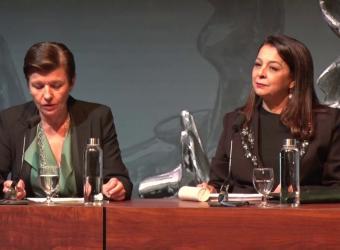 Conferencia en el Club Ultima Hora de la embajadora de Marruecos en España