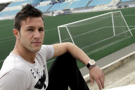 El jugador del Atl+etic Balears, Edu Moral.