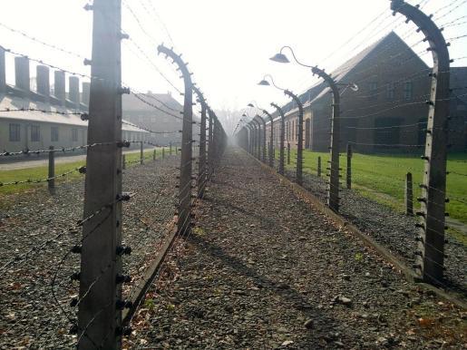 Campo de concentración nazi.