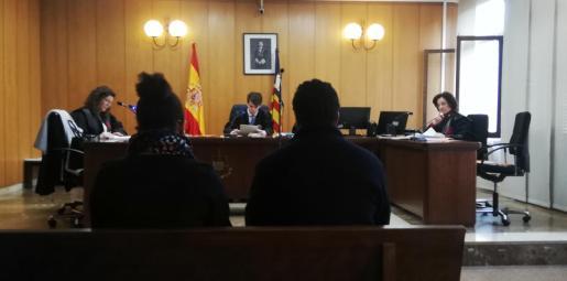Imagen de la vista celebrada en el Juzgado de lo Penal nº3.