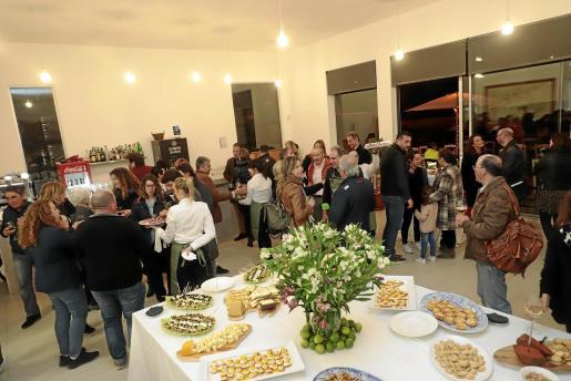 Detalle de la velada en el nuevo Can Amer en Lloseta.
