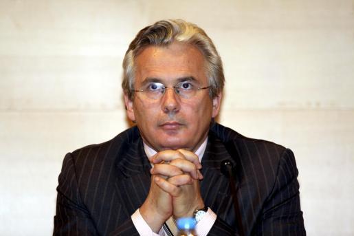 Imagen del juez Baltasar Garzón en una de sus visitas a Mallorca.