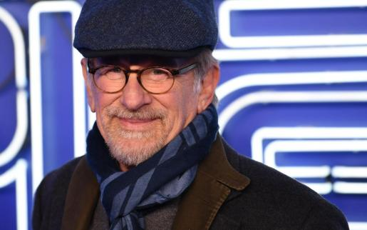 El director de cine estadounidense Steven Spielberg.