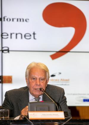 El expresidente del Gobierno de España Felipe González.