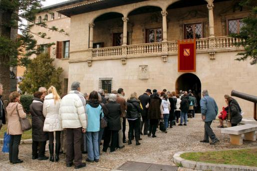 Imagen de archivo de un día de puertas abiertas del Consolat.