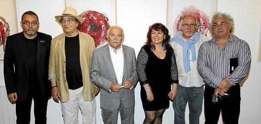 Toni de la Mata, Toni Sanç «Nerudin», Joan Cunill, Margalida Adrover, José Luis y Toni Marí.
